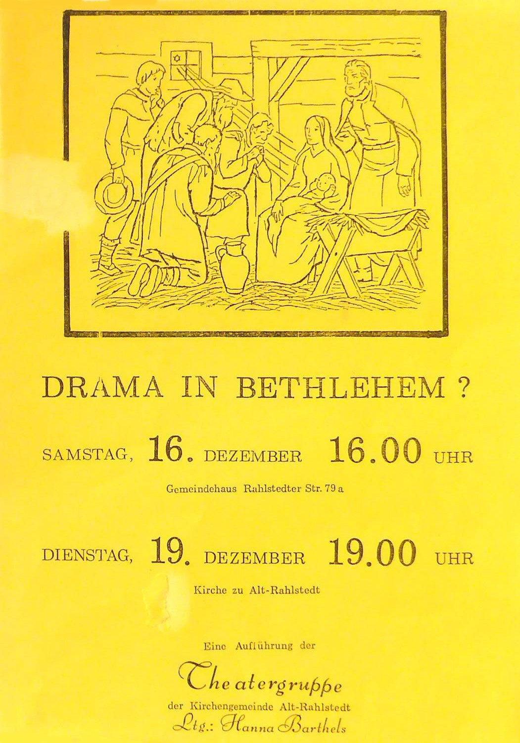 1989 - Drama in Bethlehem, H. Barthels
