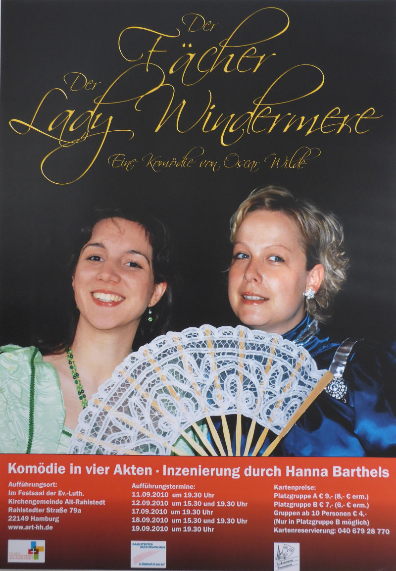 2010 - Lady Windermeres Fächer, O. Wilde